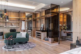 20万以上140平米三室两厅轻奢风格衣帽间图片