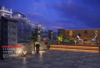 20万以上140平米别墅现代简约风格阳台装修图片大全