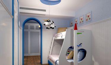 140平米三室两厅地中海风格卧室图