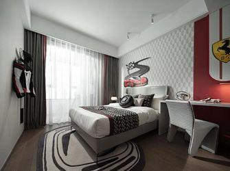 富裕型120平米三室三厅混搭风格青少年房图