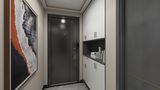 10-15万110平米三室两厅现代简约风格玄关图片