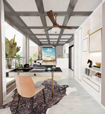 豪华型140平米三室两厅轻奢风格阳光房欣赏图