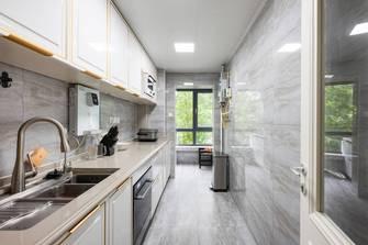 豪华型140平米三室一厅新古典风格厨房图片大全