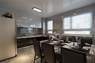 90平米三室两厅港式风格厨房设计图