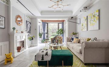 110平米四美式风格客厅图