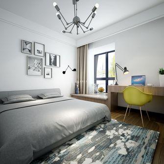 经济型140平米四现代简约风格卧室图片