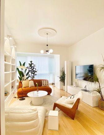 5-10万100平米三室两厅法式风格客厅装修案例