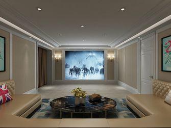 20万以上140平米别墅混搭风格影音室装修图片大全