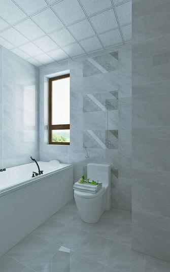 80平米三室两厅中式风格卫生间设计图