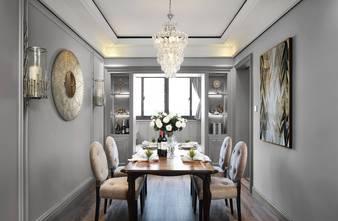 富裕型90平米三室一厅现代简约风格餐厅设计图
