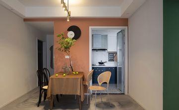 5-10万80平米三室一厅混搭风格餐厅图片大全