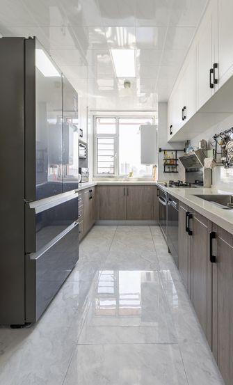 富裕型120平米三室两厅北欧风格厨房设计图