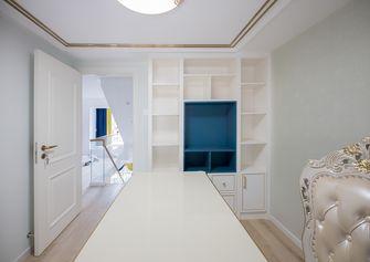 140平米复式欧式风格书房图