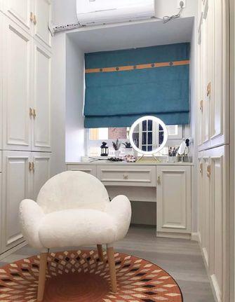 富裕型110平米三室两厅北欧风格梳妆台装修案例