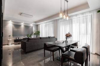 经济型120平米四室两厅现代简约风格餐厅图