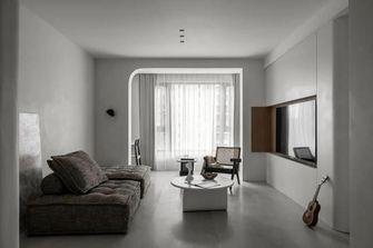 富裕型三室两厅英伦风格客厅图片