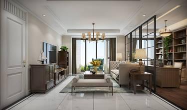 豪华型120平米三室两厅美式风格客厅图片大全