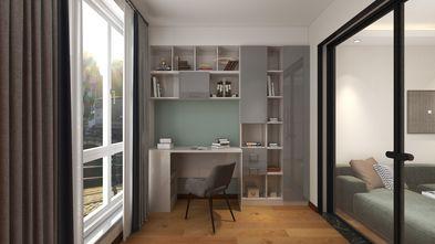 70平米公寓现代简约风格书房装修案例