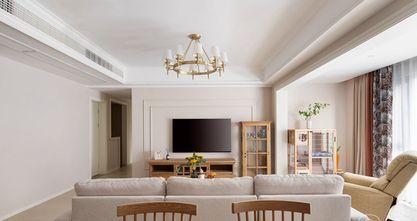110平米四美式风格客厅图片大全
