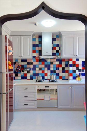 经济型100平米三室一厅混搭风格厨房图片大全