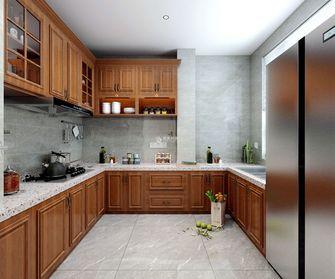 5-10万140平米四美式风格厨房装修效果图