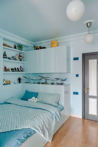 富裕型80平米三室两厅美式风格书房图片