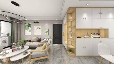 富裕型110平米三室两厅北欧风格走廊装修案例