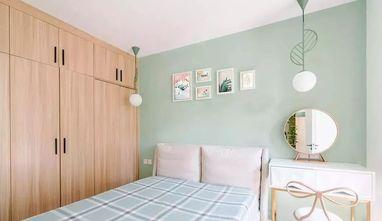 120平米三室一厅北欧风格卧室图