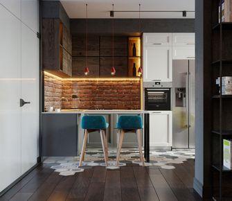 30平米以下超小户型工业风风格厨房欣赏图