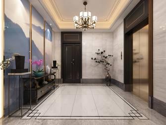 140平米三室两厅中式风格楼梯间图