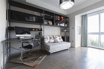 15-20万110平米三室两厅现代简约风格书房欣赏图