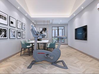 20万以上140平米别墅现代简约风格健身房图