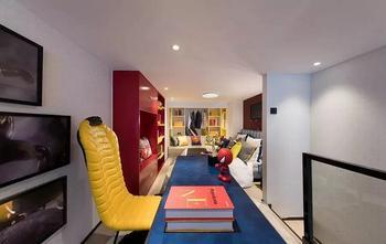 经济型30平米超小户型混搭风格书房设计图