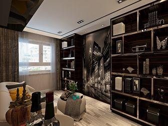 90平米三室两厅港式风格书房装修效果图