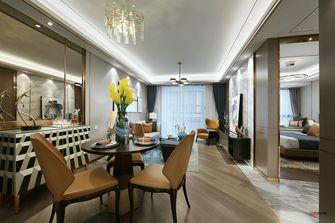 富裕型90平米三室两厅现代简约风格餐厅装修案例