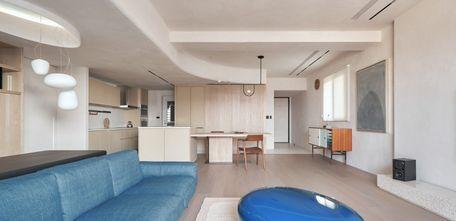 富裕型130平米四室两厅北欧风格客厅装修案例