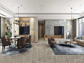 豪华型140平米四室两厅轻奢风格餐厅图