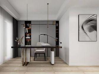 130平米三室一厅现代简约风格书房装修效果图