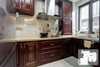 富裕型140平米复式中式风格厨房图片大全