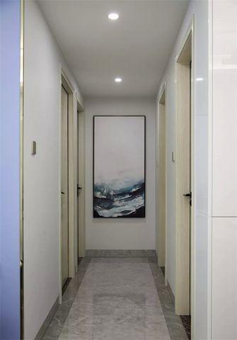 富裕型110平米三室两厅轻奢风格走廊装修效果图
