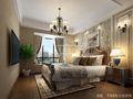 140平米四室三厅美式风格卧室欣赏图
