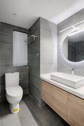 富裕型120平米三现代简约风格卫生间设计图
