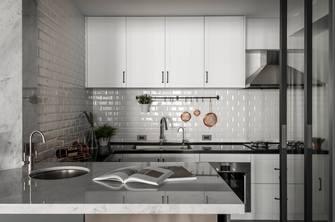 富裕型110平米三混搭风格厨房装修效果图