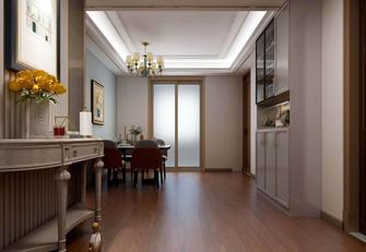 富裕型120平米三室两厅美式风格餐厅装修效果图