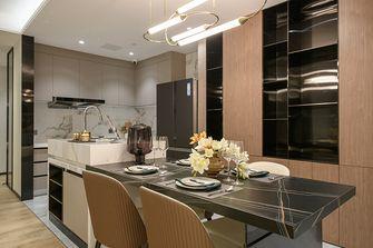 富裕型一室两厅轻奢风格餐厅欣赏图