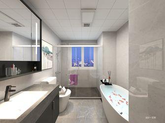 豪华型120平米三室一厅现代简约风格卫生间图片