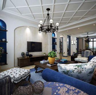 100平米地中海风格客厅设计图