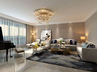 豪华型140平米港式风格客厅装修效果图