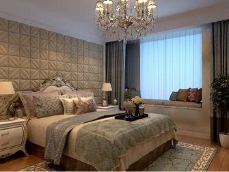 140平米三室两厅美式风格卧室图