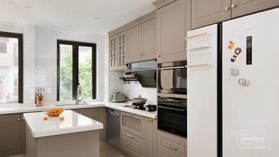 经济型100平米三室两厅美式风格厨房图片
